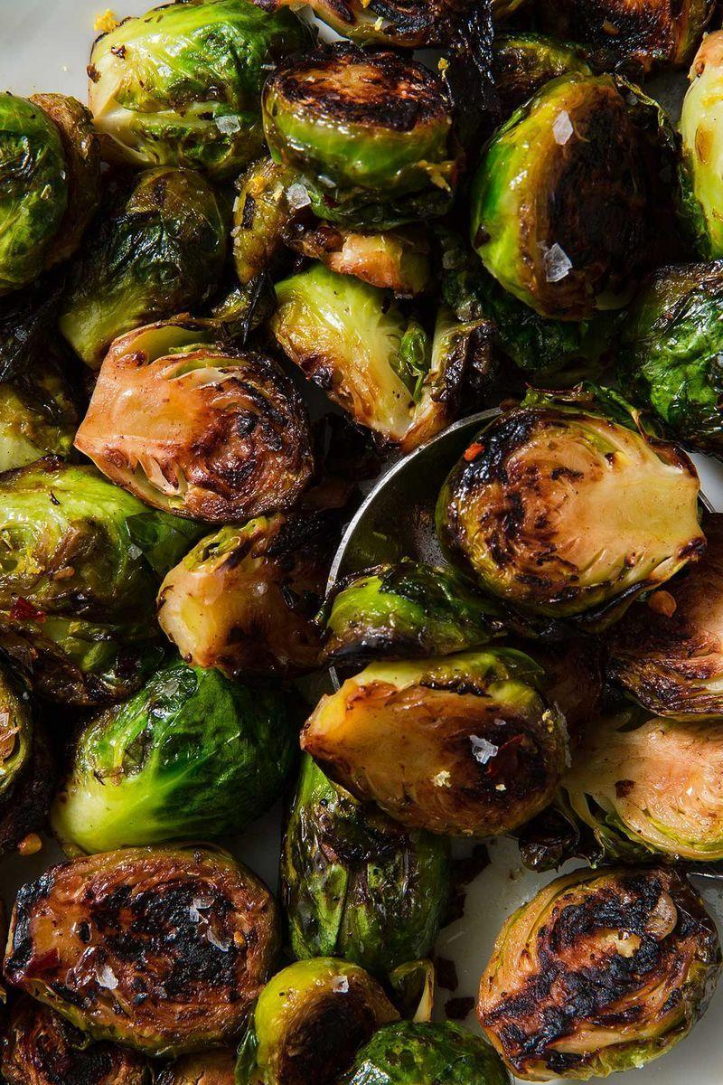 """<p>These little guys are endlessly riffable. Throw in chilli flakes, cumin seeds, fresh oregano, or any other flavours you love. Brussels sprouts also go great with cheese (see it for yourself in our <a href=""""https://www.delish.com/uk/cooking/recipes/a28924372/cheesy-brussels-sprout-casserole-recipe/"""" rel=""""nofollow noopener"""" target=""""_blank"""" data-ylk=""""slk:cheesy brussels sprout bake"""" class=""""link rapid-noclick-resp"""">cheesy brussels sprout bake</a>), so don't shy away from some shaved parm for garnish. </p><p>Get the <a href=""""https://www.delish.com/uk/cooking/recipes/a31094164/best-sauteed-brussel-sprouts-recipe/"""" rel=""""nofollow noopener"""" target=""""_blank"""" data-ylk=""""slk:Sautéed Brussels Sprouts"""" class=""""link rapid-noclick-resp"""">Sautéed Brussels Sprouts</a> recipe.</p>"""