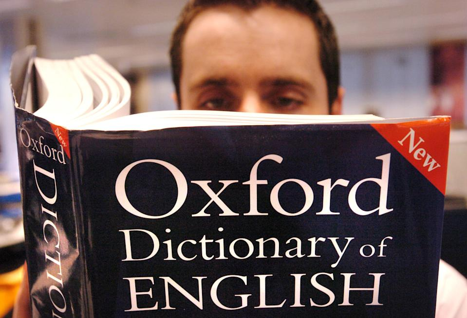 """The dictionary entry was changed after an online petition called for the Oxford Dictionary to amend the entry for """"woman"""". Source: PA"""