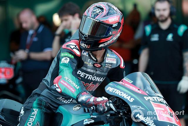 "Fabio Quartararo, Petronas Yamaha SRT <span class=""copyright"">Gold and Goose / Motorsport Images</span>"