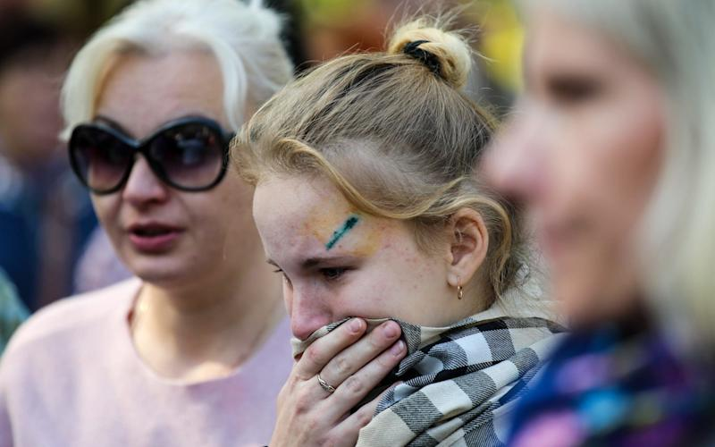 Mourners attended a prayer service for the Kerch polytechnic vocational school attack victims - TASS