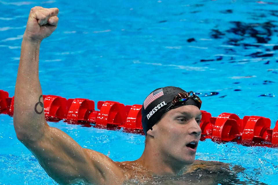 Tokyo Olympics Swimming (Copyright 2021 The Associated Press. All rights reserved)