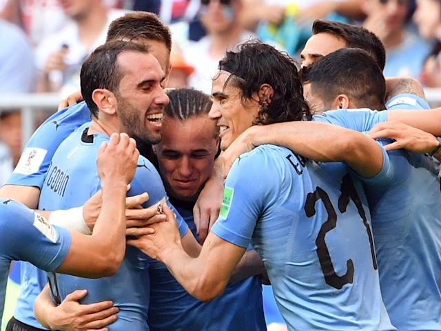 Uruguay vs Russia LIVE World Cup 2018: Latest score, goals and updates plus prediction, how to watch online, team news, line-ups