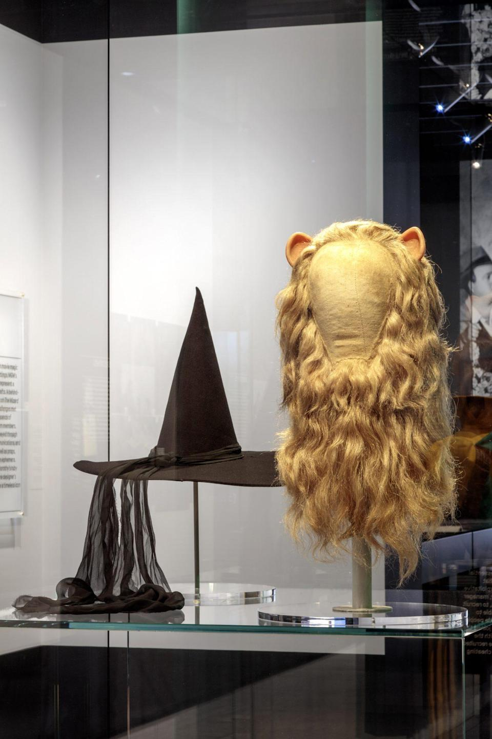<p>As well as props worn by the Cowardly Lion and Wicked Witch. </p>