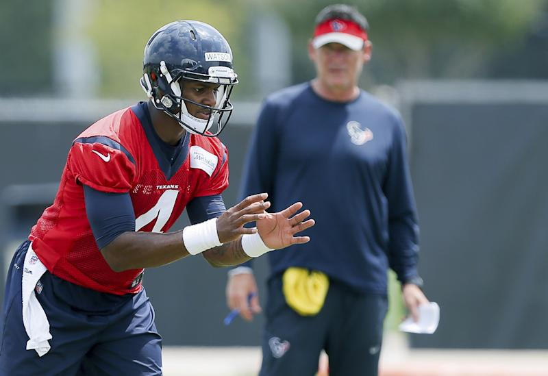 All eyes will be on Deshaun Watson as he makes his NFL preseason debut this week. (AP)