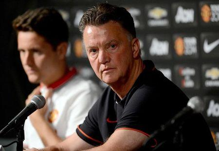 Soccer: Manchester United-Training