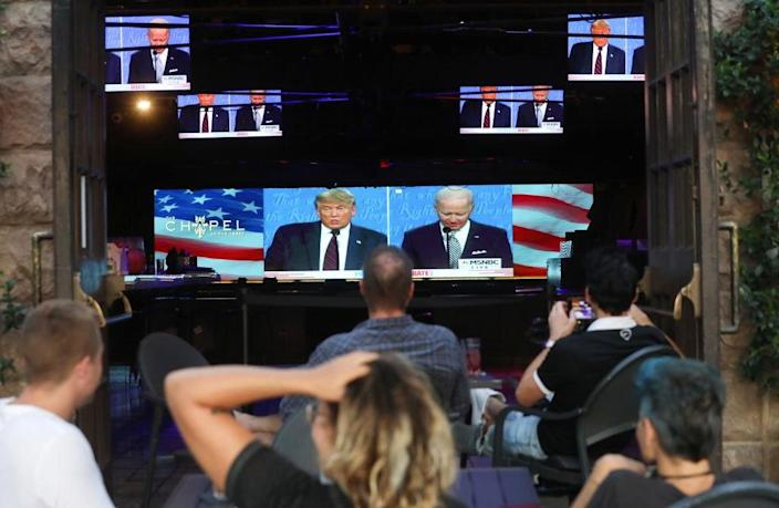 Americans Across The Nation Watch First Presidential Debate