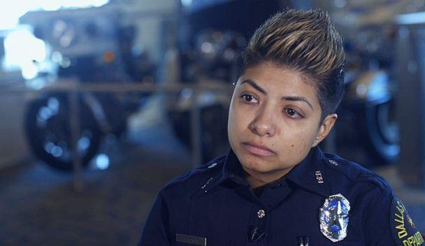 PHOTO: LGBTQ Liason Officer for Dallas Police Amber Roman is working to earn the trust of the trans community, starting by working to stop misgendering. (ABC)