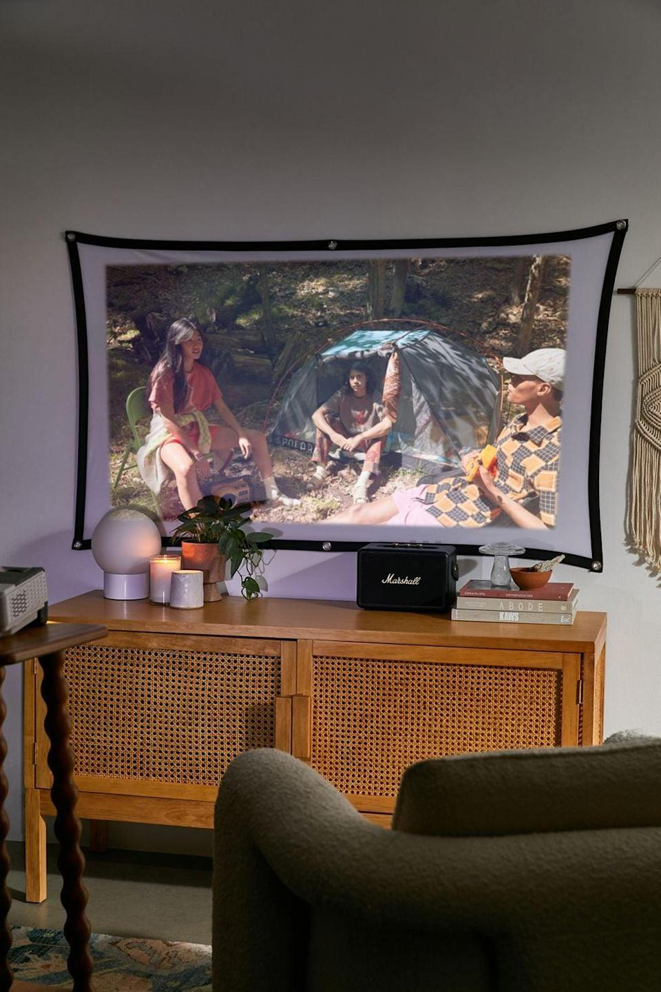 <p>They can watch their favorite movie anywhere with the <span>Packard Bell Home Theater Projector And Screen Set</span> ($98). The compact design makes it easy to move around.</p>