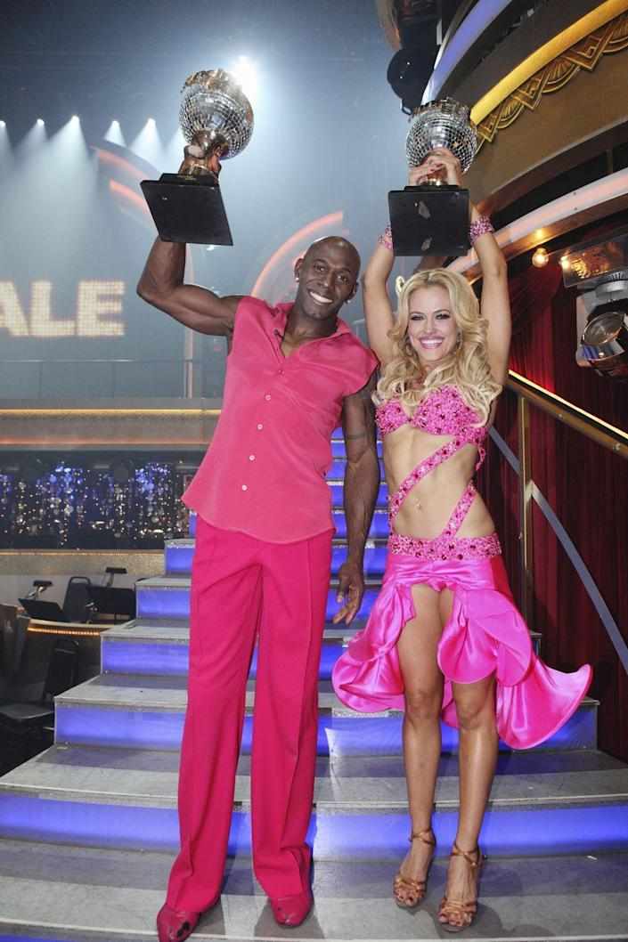 <p><strong>Season: </strong>14</p><p><strong>Runners-up:</strong> Katherine Jenkins & Mark Ballas</p><p><strong>About Donald: </strong>He played for the Green Bay Packers and helped them win the Super Bowl XLV! Again, almost as impressive as the Mirror Ball Trophy. Almost.</p>