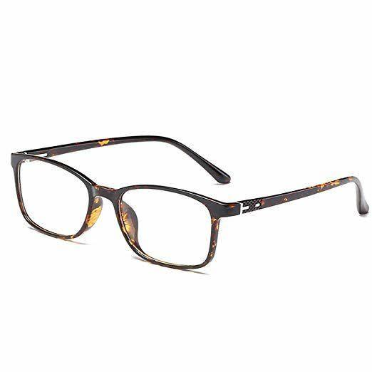 "These square-framed blue light-blocking glasses come in two universal shades, black and tortoise. <a href=""https://amzn.to/3gL0jdE"" rel=""nofollow noopener"" target=""_blank"" data-ylk=""slk:Get them for under $25 on Amazon"" class=""link rapid-noclick-resp"">Get them for under $25 on Amazon</a>."
