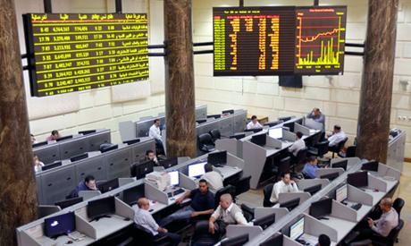 Egypt's stock market ends year on positive note