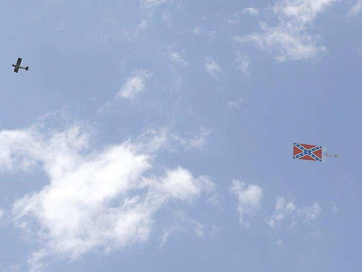 Confederate flag flown over Bristol speedway weeks after it was banned by Nascar