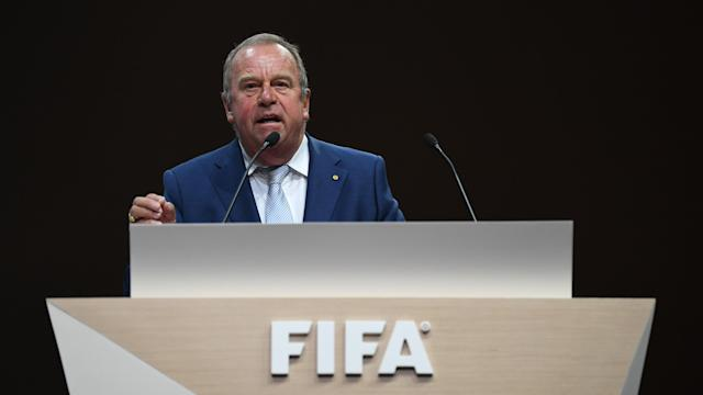 FIFA medical chief Michel D'Hooghe said he'd be happy to see soccer wait to return until August with a new season. (Photo by Mike Hewitt - FIFA/FIFA via Getty Images)