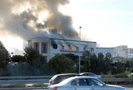 Aftermath of Attack on Libyan Foreign Ministry