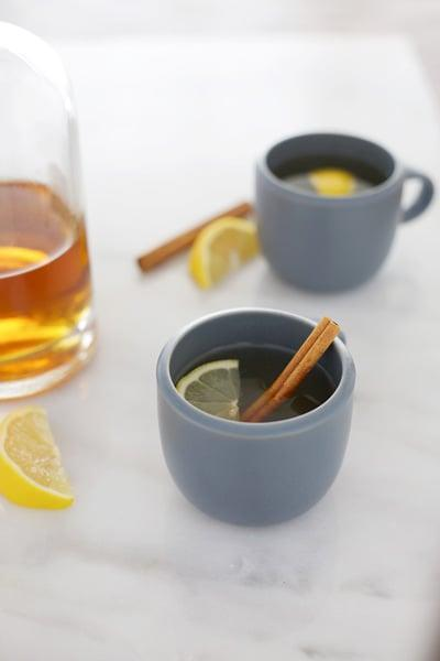 """<p>This honey-infused hot toddy is a classic Bourbon St. cure. Drink this after a long day of partying, and you'll feel very much revived.</p> <p><strong>Get the recipe:</strong> <a href=""""https://www.bourbonandhoney.com/bourbon-honey-hot-toddy/"""" class=""""link rapid-noclick-resp"""" rel=""""nofollow noopener"""" target=""""_blank"""" data-ylk=""""slk:bourbon and honey hot toddy"""">bourbon and honey hot toddy</a></p>"""
