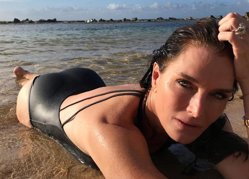 Brooke Shields, Maye Musk stun in swimsuit shots
