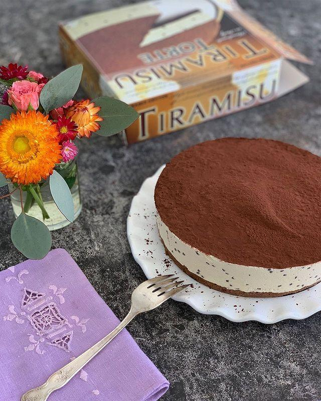 """<p>Tiramisu is undoubtedly delicious, but whipping one up isn't exactly quick. And the time you spend on it is time you could be spending with your guests at your next ~fancy dinner party~. Instead, try picking one of these up at Trader Joe's. Stick it in the fridge while you cook, and it'll be perfect by dessert. </p><p><a href=""""https://www.instagram.com/p/B2AqhlXHPoO/"""" rel=""""nofollow noopener"""" target=""""_blank"""" data-ylk=""""slk:See the original post on Instagram"""" class=""""link rapid-noclick-resp"""">See the original post on Instagram</a></p>"""