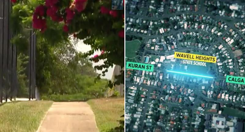 Jogging attack: The woman was jogging between Kuran and Calga Street in Wavell Heights, Brisbane on Tuesday when the attack occurred.