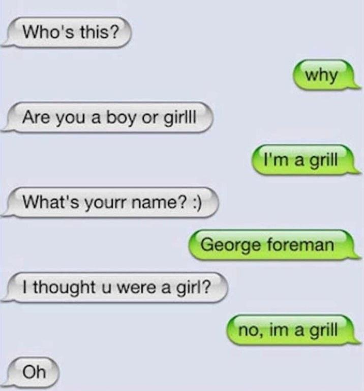 person saying they are not a girrl they are a grill