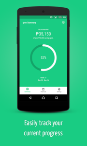 best budgeting apps in the philippines - ipon 52 weeks challenge