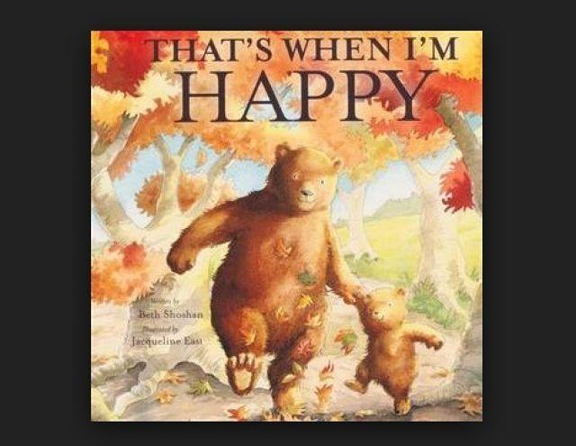 Book Review: That's When I'm Happy By Beth Shoshan
