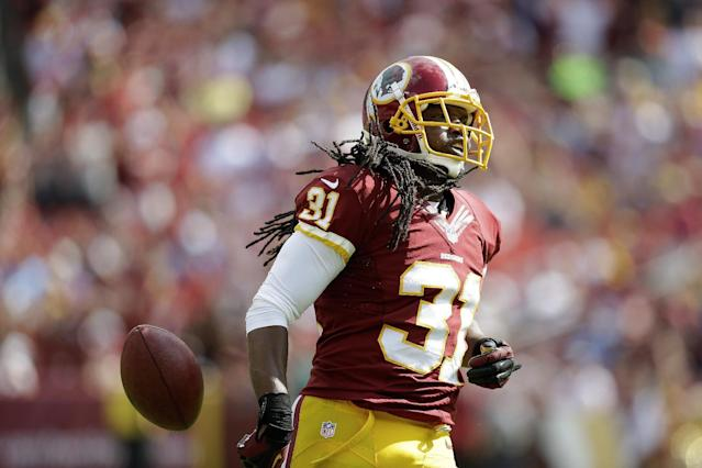 Redskins' Meriweather responds to Bears' Marshall
