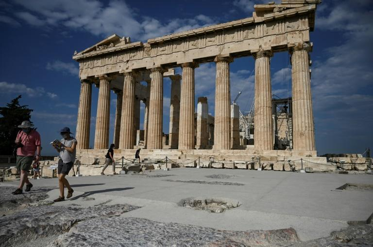 Greece hopes to reach half of its normal tourism level this summer