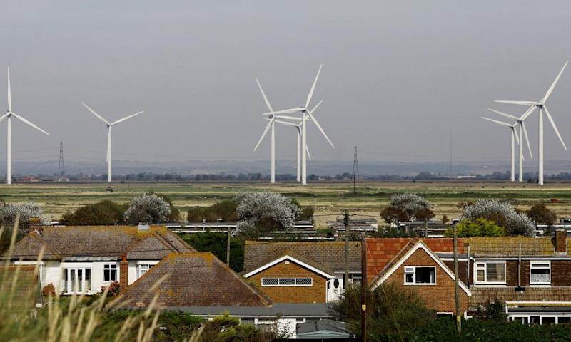 Cheyne Court windfarm on Romney Marsh