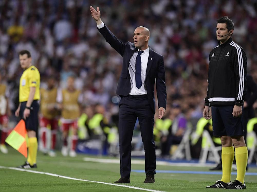 Zidane has downplayed the significance of Sunday's Clasico (Getty)