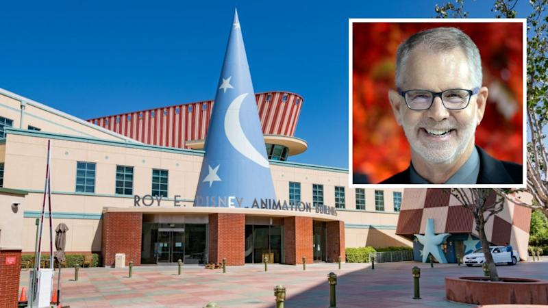General views of the Roy E. Disney Animation Building at The Walt Disney Company film studio lot on August 06, 2020 in Burbank, California. (Photo by AaronP/Bauer-Griffin/GC Images) Frozen, Frozen II, Tarzan director Chris Buck.