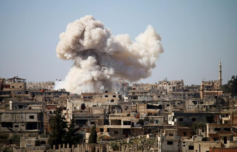Fighting in Syria has continued in the runup to the Geneva peace talks