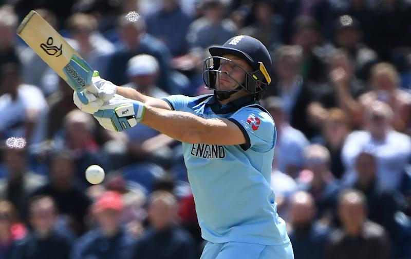 England's Jos Buttler is one of the most devastating finishers in world cricket (AFP Photo/Paul ELLIS)