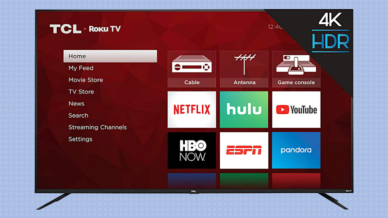 Save $550 on this TCL 75-inch 4K Ultra HD Roku Smart LED TV (75S425). (Photo: TCL)