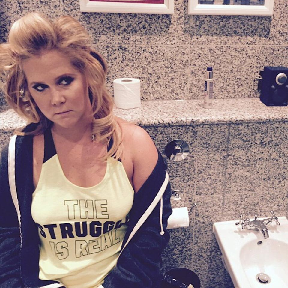 The comedienne is no stranger to airing out her bathroom habits.