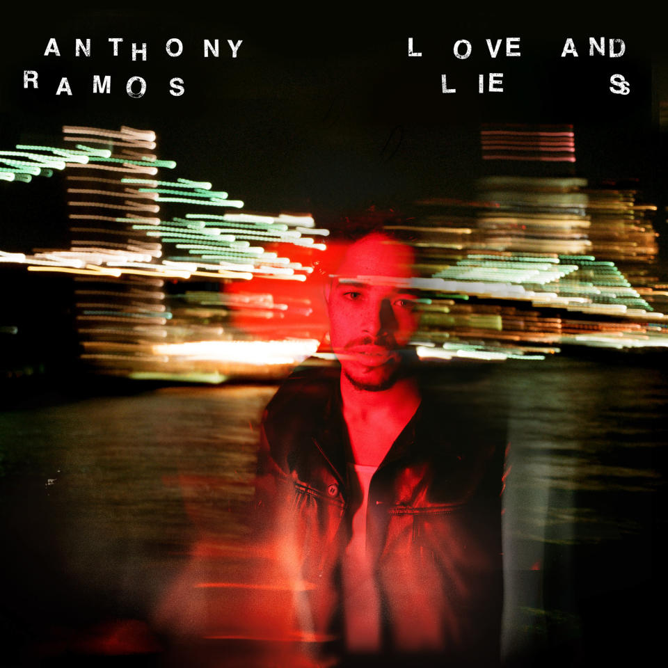 """This cover image released by Republic Records shows """"Love And Lies"""" by Anthony Ramos. (Republic Records via AP)"""