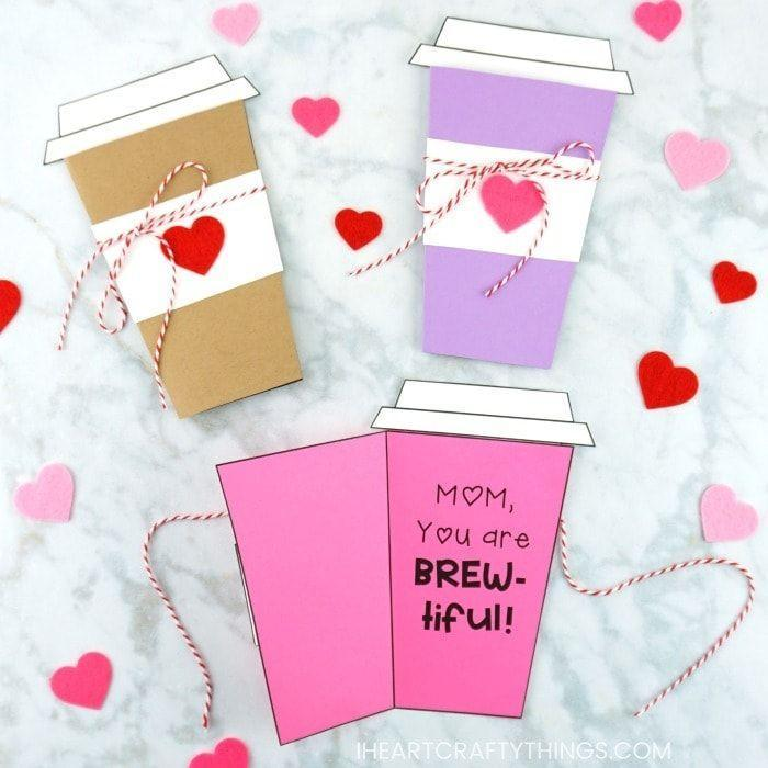 """<p>Perfect for the mom who lives for her cup of coffee, this cute card is bound to make her beam. </p><p><strong>Get the tutorial at <a href=""""https://iheartcraftythings.com/coffee-card-template.html"""" rel=""""nofollow noopener"""" target=""""_blank"""" data-ylk=""""slk:I Heart Crafty Things"""" class=""""link rapid-noclick-resp"""">I Heart Crafty Things</a>. </strong></p><p><a class=""""link rapid-noclick-resp"""" href=""""https://www.amazon.com/Cotton-Bakers-Natural-Wrapping-Packaging/dp/B08JJ3RQQP?tag=syn-yahoo-20&ascsubtag=%5Bartid%7C2164.g.35668391%5Bsrc%7Cyahoo-us"""" rel=""""nofollow noopener"""" target=""""_blank"""" data-ylk=""""slk:SHOP BAKER'S TWINE"""">SHOP BAKER'S TWINE</a></p>"""