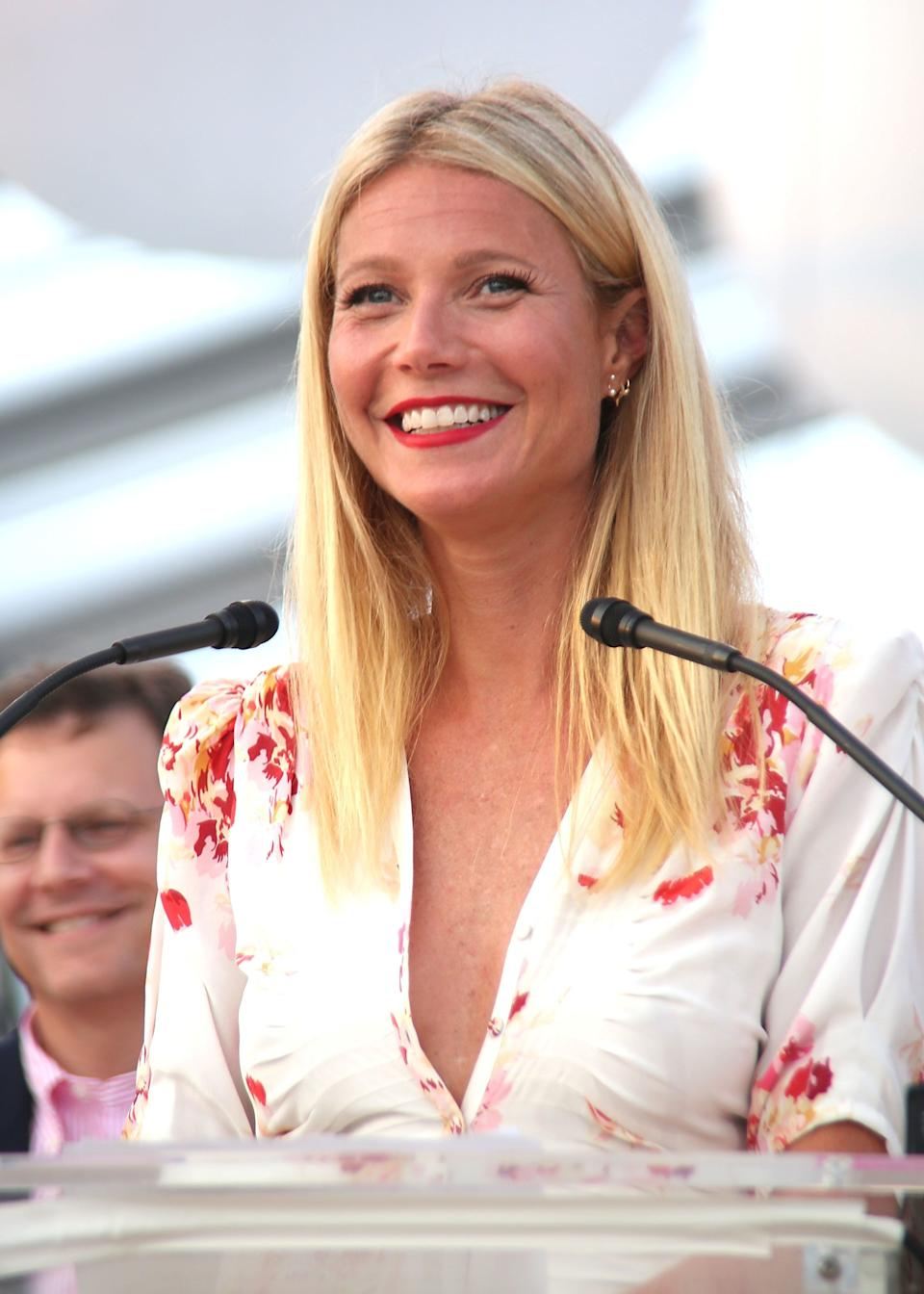"""Gwyneth Paltrow hasn't had a bad word to say about Chris Martin ever since they """"consciously uncoupled"""" in 2014, and even spoke favourably about his relationship with Jennifer Lawrence.<br /><br /> Instead, she focused on her own career, her family and friends, and the continuing growth of her site, Goop. Now that's how you tackle a break-up like a boss."""