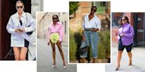 """<p>When the <em>BAZAAR.com</em> fashion team has a virtual meeting, one thing is more certain than mics getting left on mute: At least one editor logs on wearing an oversized button-down. This writer's roomy button-down collection alternates between sky blue and white; others dip into yellow stripes and plain black in varying degrees of oversized. In one recent pitch session, every tile on the screen featured an oversized button-down. No exaggeration. </p><p>Our coordinating WFH uniforms are more than team style osmosis; they're a sign that oversized button-downs are a true wardrobe essential. Whether your vibe is dressing up bike shorts or dressing down in a <a href=""""https://www.harpersbazaar.com/fashion/trends/a37024693/summers-best-loungewear-matching-sets/"""" rel=""""nofollow noopener"""" target=""""_blank"""" data-ylk=""""slk:matching set"""" class=""""link rapid-noclick-resp"""">matching set</a>, oversized button-down shirts are equal parts relaxed and chic. What other piece is so effortless it appears everywhere from the Nancy Meyers repertoire to haute couture street style? (We'll wait.)</p><p>Pick up our favorite oversized button-downs from experts like Frankie Shop, Alex Mill, and Henning now, and you'll have a closet staple for years. Unintentional coordination with <em>BAZAAR</em>'s editors included.</p>"""