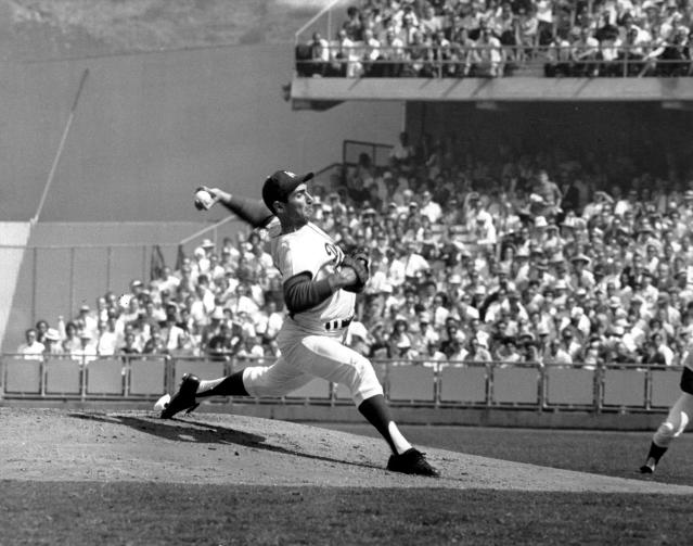 Sandy Koufax had a 1.37 ERA in 86 career games at Dodger Stadium, which is pretty good. (AP Photo)