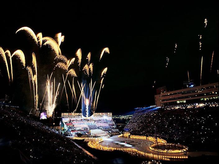 <p>Over 3.5 billion people watched the opening and closing ceremonies. The opening ceremony went on to win seven Emmy Awards. </p>