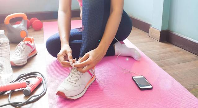 The best equipment for working out at home. (Getty Images)