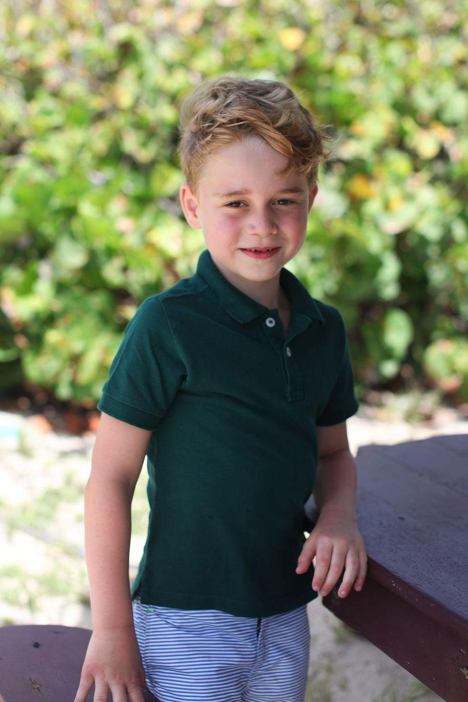 <p>Kensington Palace released a series of photos of George taken by Kate in honor of his 6th birthday.</p>