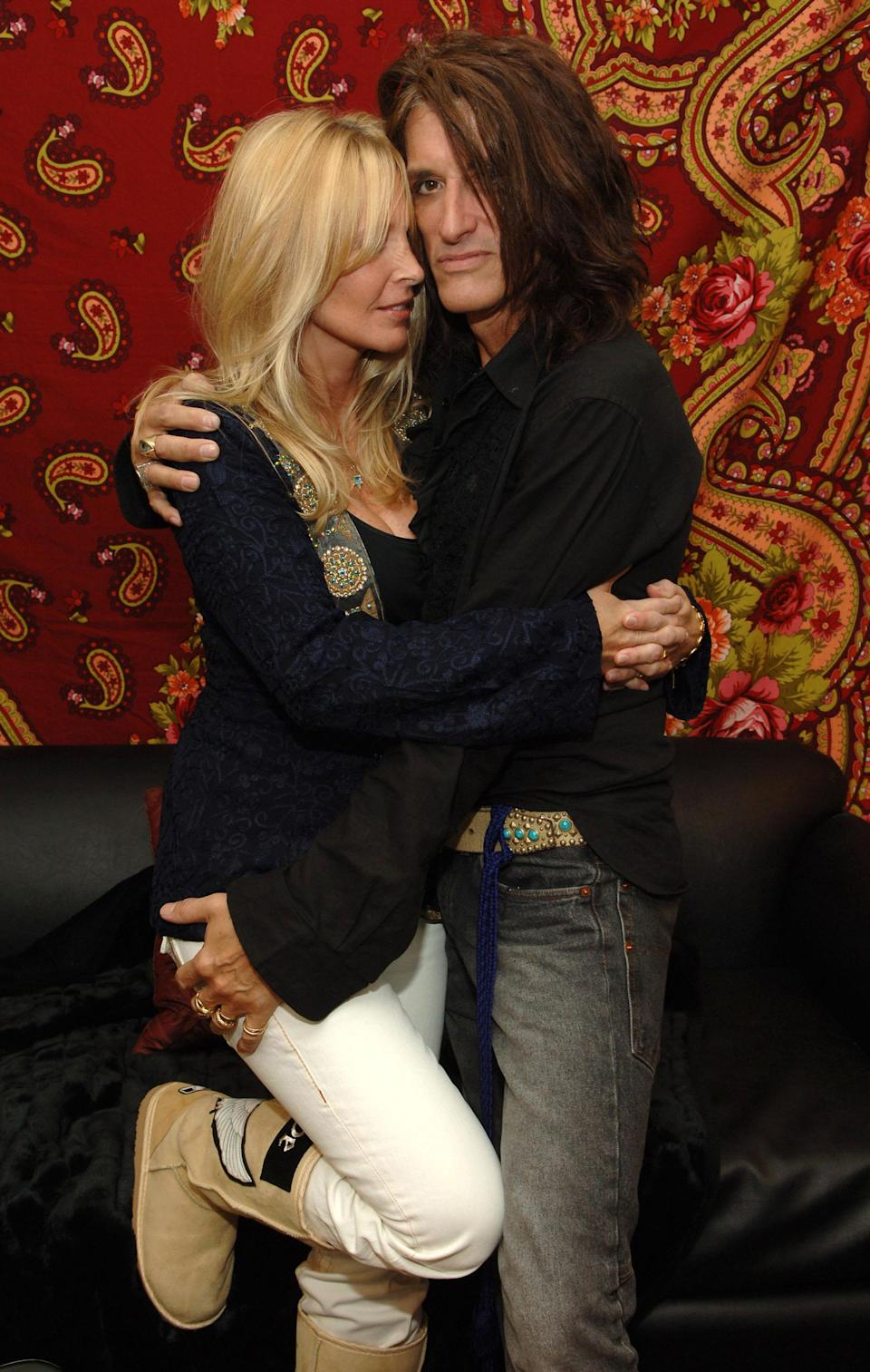 Joe and Billie Perry in 2006. (Photo: Kevin Mazur/WireImage)