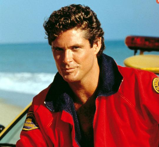 David Hasselhoff in the original 'Baywatch' TV series (Photo ...