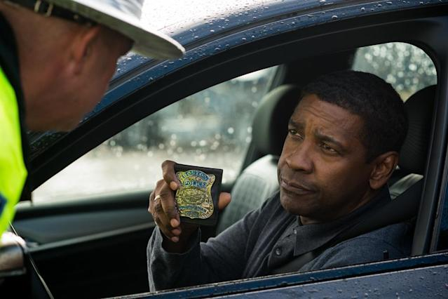 """<p>Four years after its predecessor grossed a healthy $101 million domestically, Denzel Washington and director Antoine Fuqua reunite for another episode in the life of former CIA badass Robert McCall. Although plot details remain scarce, we know that Bill Pullman and Melissa Leo will also return as McCall colleagues who aid him in his vigilante endeavors.   <a href=""""https://www.go90.com/videos/6yAhnrTdhRv"""" rel=""""nofollow noopener"""" target=""""_blank"""" data-ylk=""""slk:Watch trailer"""" class=""""link rapid-noclick-resp"""">Watch trailer</a> (Sony) </p>"""