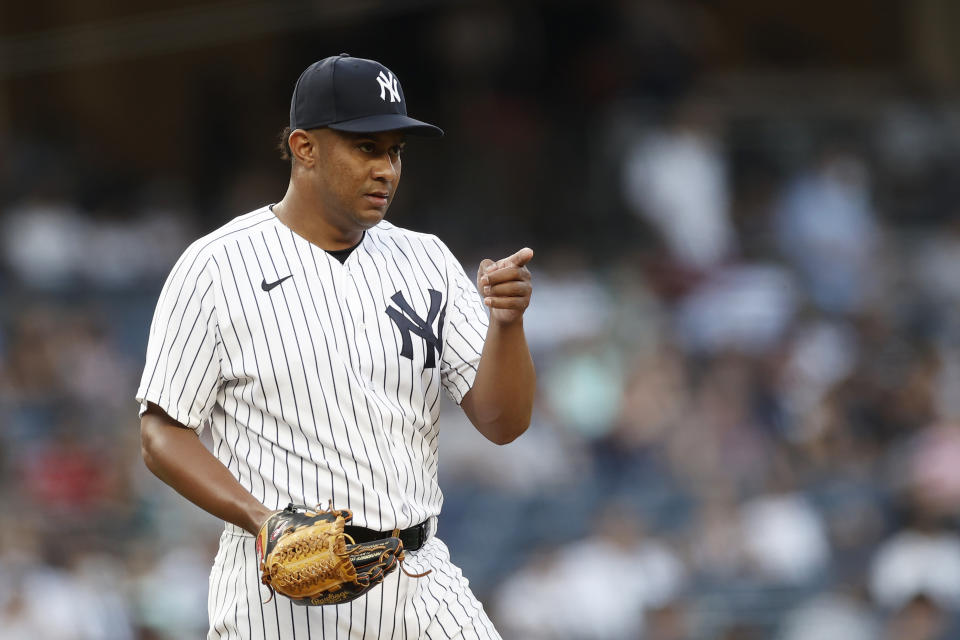 Wandy Peralta。(Photo by Adam Hunger/Getty Images)