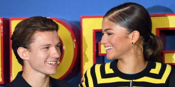 Zendaya says she admires Tom Holland for his work as Spider-Man