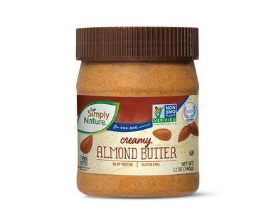 <p>Simply Nature Creamy Almond Butter remains a staple on Aldi shoppers' regular grocery lists. It's a tasty swap for toast and sandwiches if you have a peanut allergy—or even if you don't, because, again: tasty! Plus, it's gluten-free, and in case you missed it, <em>creamy</em>, too.</p>