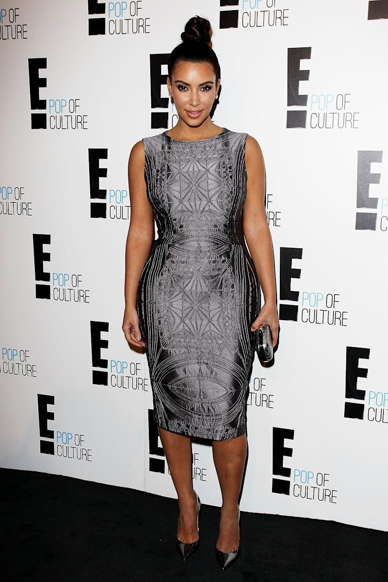 SYDNEY, AUSTRALIA - SEPTEMBER 19: Kim Kardashian attends the E!Channel Brand Evolution event in Paddington on September 19, 2012 in Sydney, Australia. (Photo by Lisa Maree Williams/Getty Images)