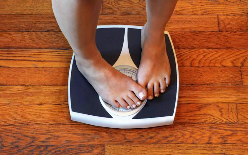 Would you stay with a boyfriend who watched your weight? - Rick Elkins